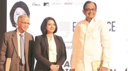 Murthy, Chidambaram at IIT-Bombay