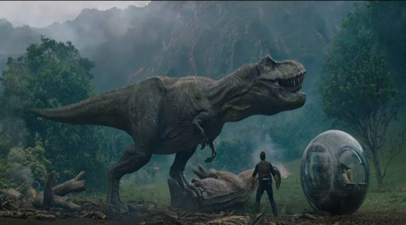 top hollywood news of the day includes jurassic world the fallen kingdom trailer, dc overhaul by warner bros, star wars the last jedi stormtroopers