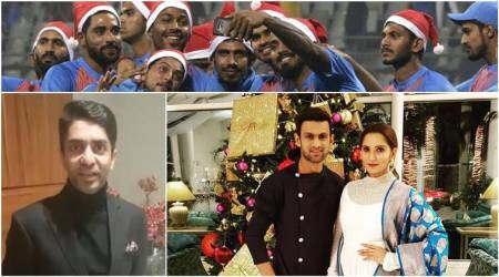 Merry Christmas: Rohit Sharma, Abhinav Bindra, Sania Mirza, PR Sreejesh, Cristiano Ronaldo, Rafa Nadal and more sports persons extend holiday wishes