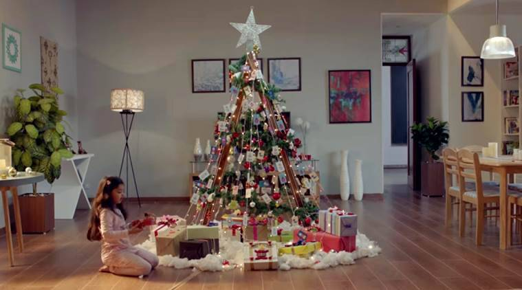 christmas, christmas in india, christmas videos, christmas videos in india, christmas advertisements, indian express, indian express news