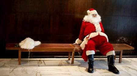 Christmas, Christmas 2017, Xmas, Christmas Santa Claus, Xmas Santa Claus, Santa Claus, Santa Claus gets ready, Christmas preparations, how Santa Claus gets ready, indian express, indian express news
