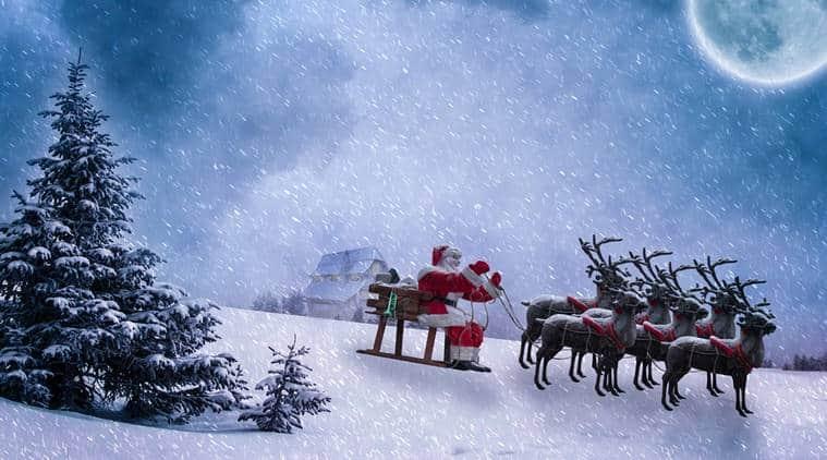 Santa Claus, santa tracker, Christmas, christmas 2017, merry christmas, christ santa tracker, santa tracker norad, santa gifts, world news, indian express