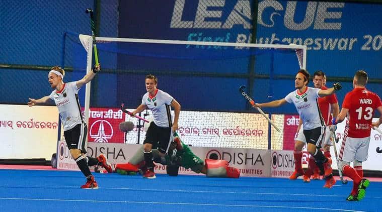 Hockey World League, Hockey World League news, HWL, Germany vs England, England Germany, sports news, hockey, Indian Express