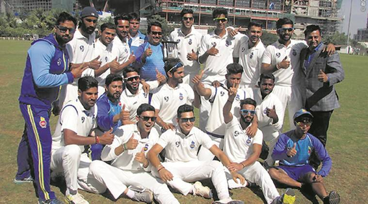 CK Nayudu Trophy, CK Nayudu Trophy result, Delhi vs Mumbai, Mumbai Delhi, Anuj Rawat, Simarjeet Singh, sports news, cricket, Indian Express