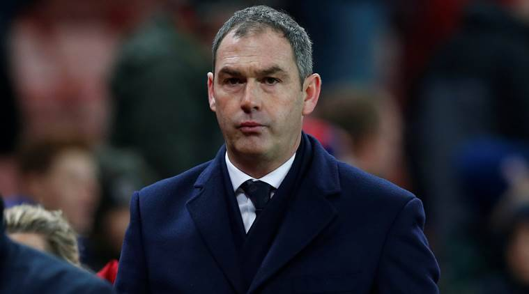 Swansea City manager Paul Clement