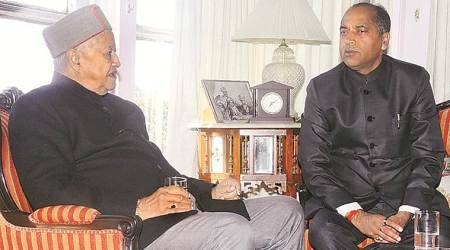 Jai Ram Thakur meets Virbhadra, Dhumal, leaves for Delhi today
