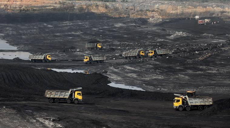 Business news, Coal India, coal production, coal mines, CIL pending dues, coal ministry, indian express