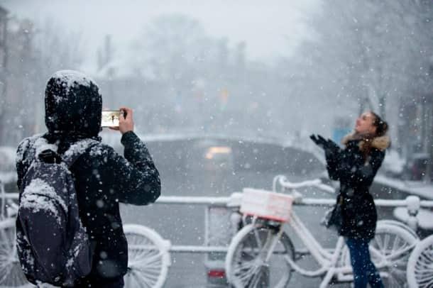 winter, winter photos, snow photos, snow photos from different parts, indian express, indian express news