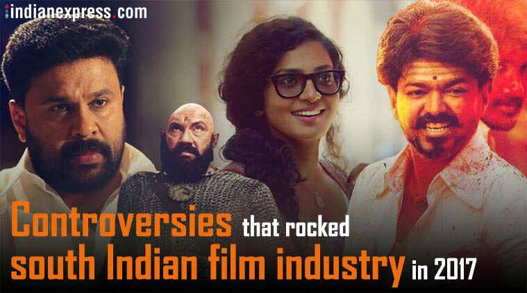 Controversies that rocked south Indian film industry in 2017
