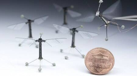 Tiny autonomous robots developed to think and act likeinsects