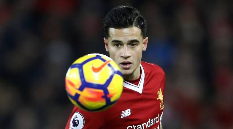 Liverpool's Philippe Coutinho