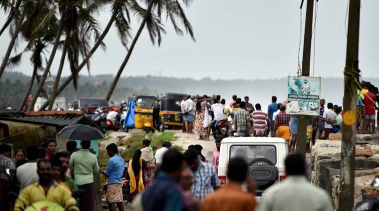 cyclone ockhi, kerala cyclone, cyclone ockhi deaths, kochi, cyclone ockhi, weather forecast, kerala rains, indian express