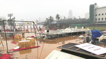 Cyclone Ockhi: Rain washes out outdoor wedding plans in Mumbai