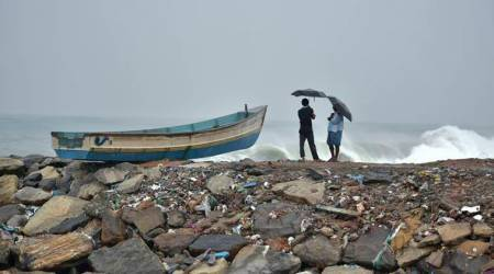 Thundershowers predicted over next three days in parts of Tamil Nadu and Kerela, fishermen advised to remaincautious