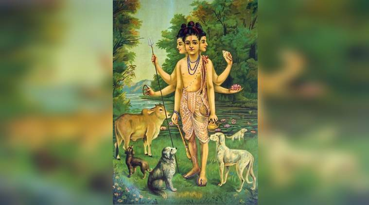 Lord Dattatreya, datta jayanti, Dattatreya Jayanti, dattatreya and his gurus, significance of datta jayanti, indian express, indian express news