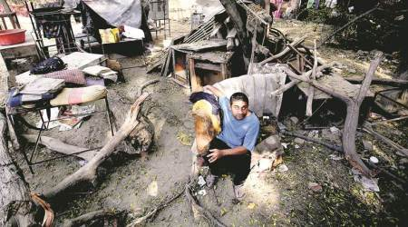 Hostel for the blind demolished by DDA: Documents I lost are not in Braille… I can't find them, says student