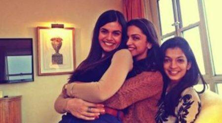 With Padmavati's release deferred, Deepika Padukone is taking some time off with her girlies