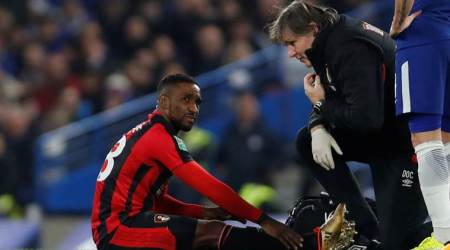 Bournemouth's Jermain Defoe out for up to 10 weeks with ankle injury