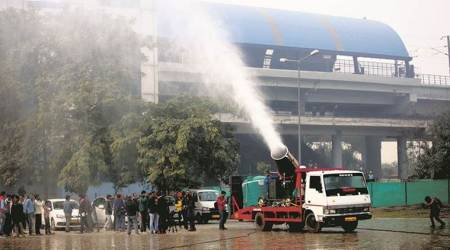 Anti-smog guns to combat pollution are out, but success still in question