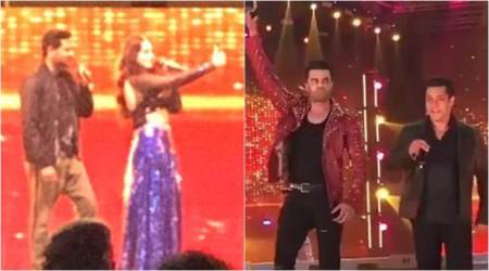 Da-Bangg Tour: Salman Khan does 'Swag Se Swagat' as Sonakshi Sinha, Kriti Sanon burn the stage in Delhi