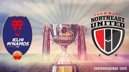 Delhi Dynamos will face off against NorthEast United at home.