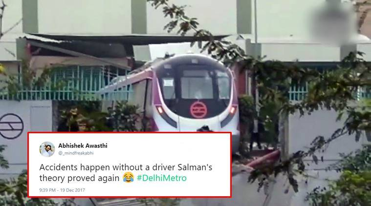 DMRC suspends four officials after metro rams into wall in Kalindi Kunj