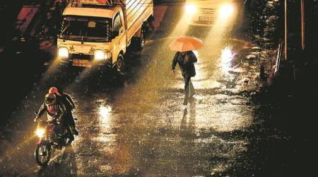 Evening spell of rain makes capital air more breathable