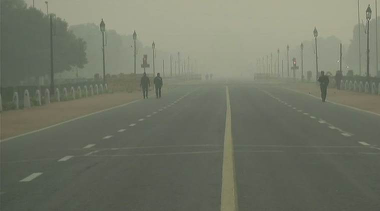 Travel chaos as fog cloaks New Delhi