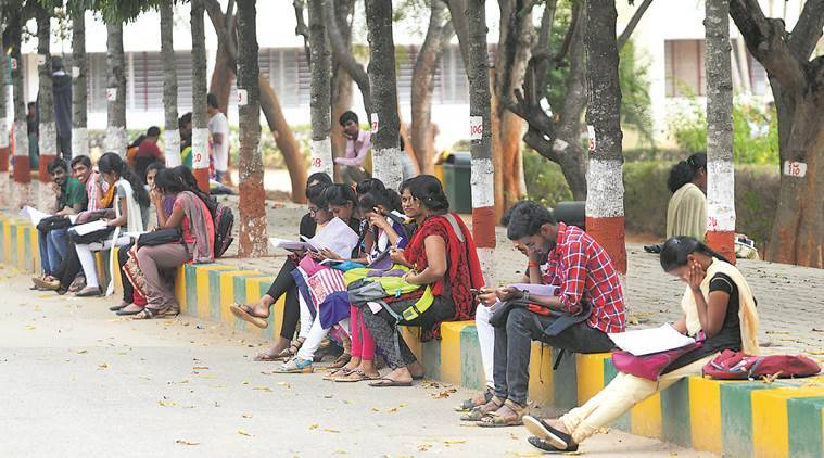 empty engineering seats, btech colleges, karnataka engr colgs, aicte, technical education, express investigation, education news, indian express