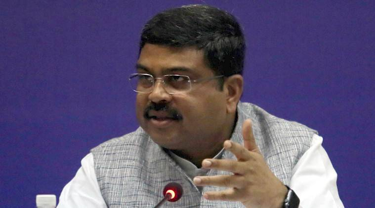 Oil Minister Dharmendra Pradhan meets Jaitley as fuel prices touch new high