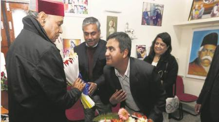 Himachal polls, Himachal elections, Himachal assembly elections, BJP CM face Prem Kumar Dhumal, Indian Express, Indian Express News