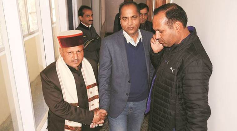 Himachal Assembly Elections, Himachal Elections, Himachal Polls, Himachal CM, Prem Kumar Dhumal, India News, Indian Express, Indian Express News