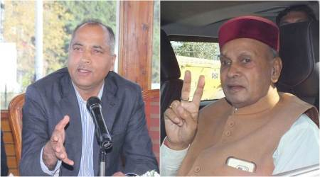 Confusion, chaos in Shimla: Dhumal, Jairam slogans give BJP observers a headache