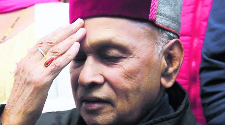Himachal Pradesh Polls, Himachal Pradesh Elections, Himachal Pradesh Poll Result, Himachal Pradesh Election Result, Himachal Pradesh Assembly Election Results, BJP CM Candidate Prem Kumar Dhumal, BJP, Indian Express, Indian Express News