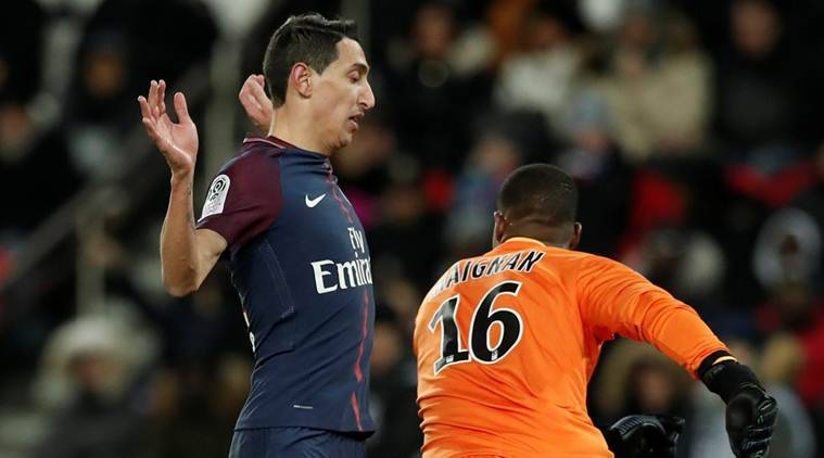 Angel Di Maria and Javier Pastore on target as leader PSG beat Lille 3-1