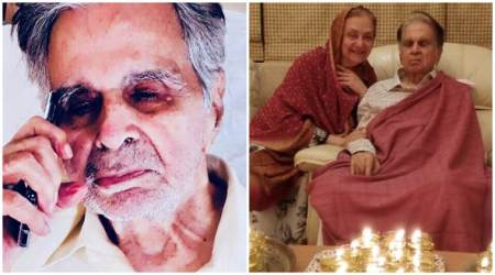 Dilip Kumar latest photo birthday plans wife Saira Banu