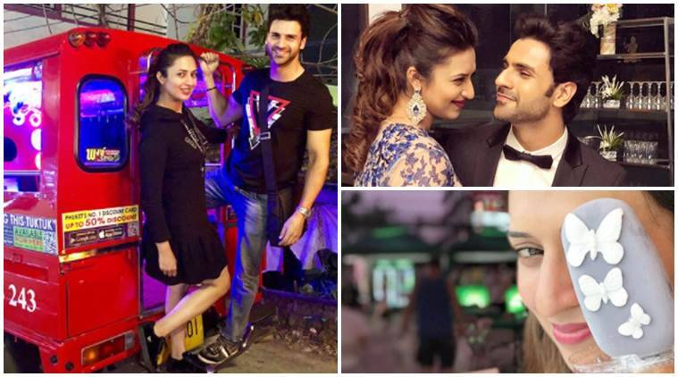 Divyanka Tripathi birthday getaway photos videos with husband Vivek Dahiya