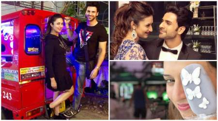 Divyanka Tripathi's birthday getaway with husband Vivek Dahiya, see photos and videos