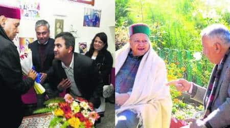 Himachal polls: Prem Kumar Dhumal eyes big win, Virbhadra Singh high on hope