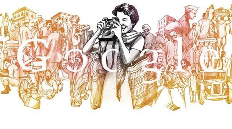 Who is Homai Vyarawalla featured in today's Google Doodle?