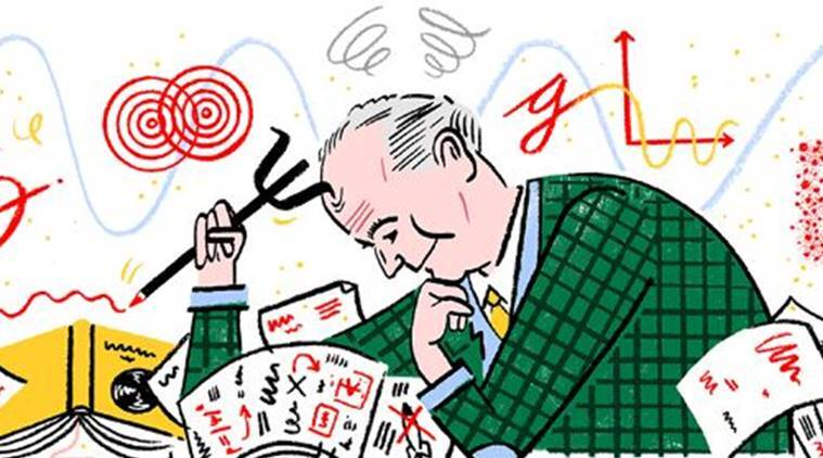 Max Born's 135th birthday celebrated with a Google Doodle