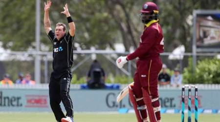 New Zealand defeated West Indies by 5 wickets.