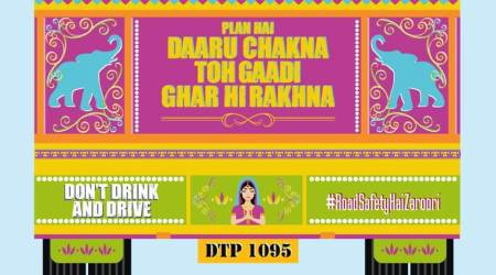 Delhi Police comes up with interesting messages to check drunk driving during new yearcelebrations