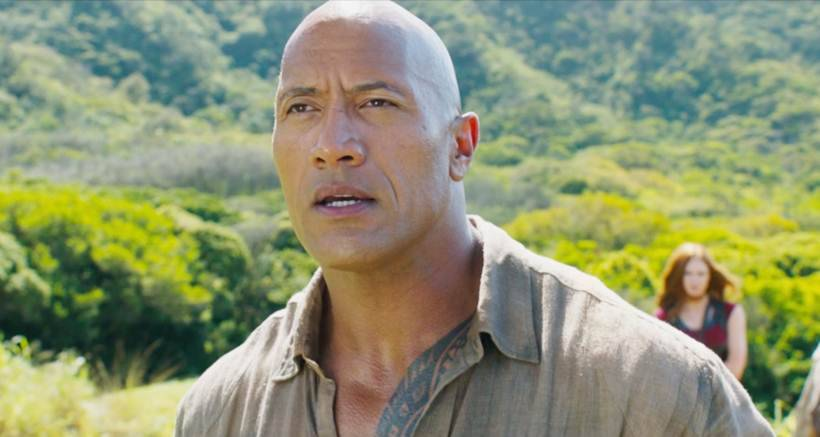 Dwayne Johnson Jumanji 2