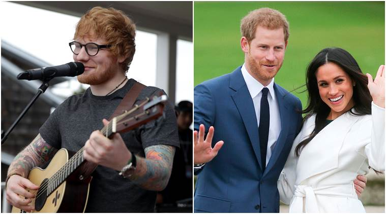 Ed Sheeran expressed his wishes to perform at the royal wedding of Prince Harry and Meghan Markle.