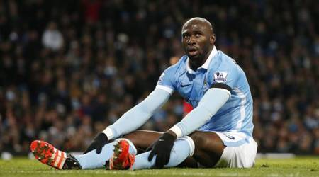 Manchester City's Eliaquim Mangala moves to Everton on loan