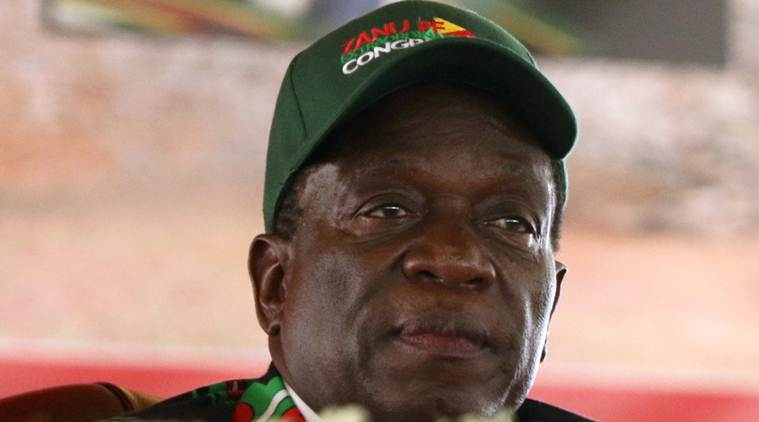 Zimbabwe's Emmerson Mnangagwa calls for party unity, end to Western sanctions