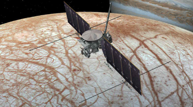 A new study indictaes that Jupiter's moon Europa could have tectonic plates similar to those found beneath the Earth's surface.