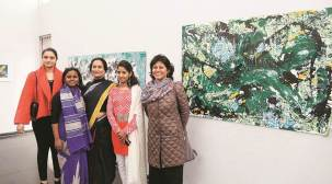 Exhibition: 12 artists capture life in various shades; 'Simplicity, accessibility is hallmark of art'
