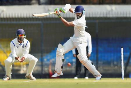 Vidarbha are playing Delhi in Ranji Trophy 2017 final.